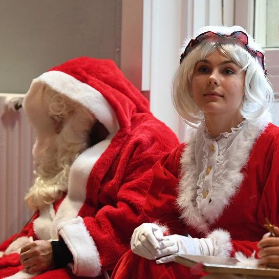 weihnachtsfrau cover