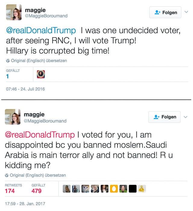 maggie tweet