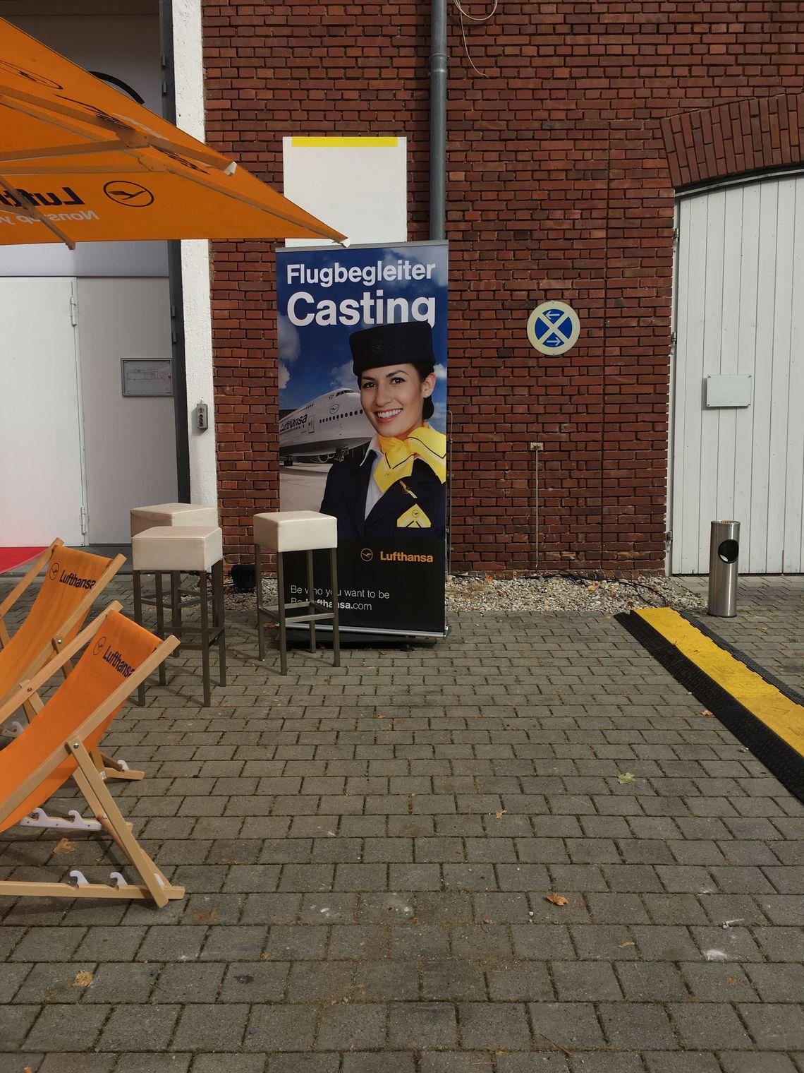 Lufthansa Casting Poster