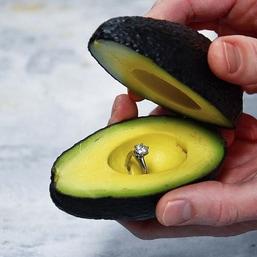 avocado proposal instagram fooddeco