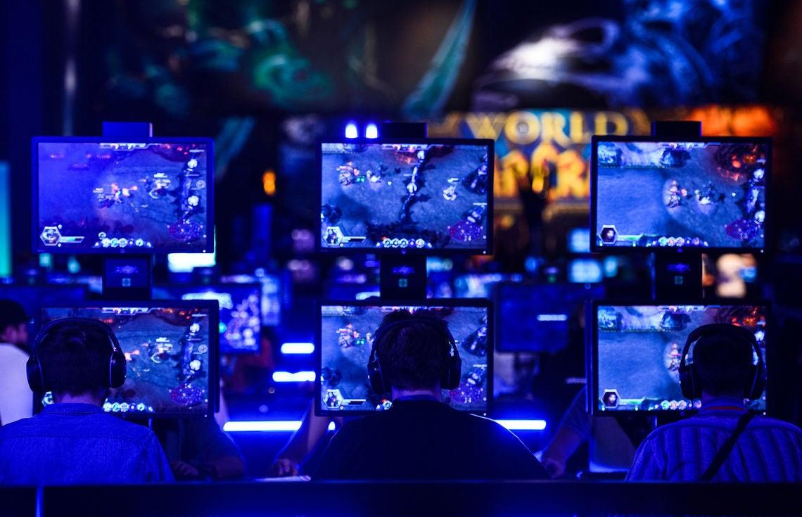 Hobby oder Sucht? Zocker bei der Game-Messe Gamescon in Köln.