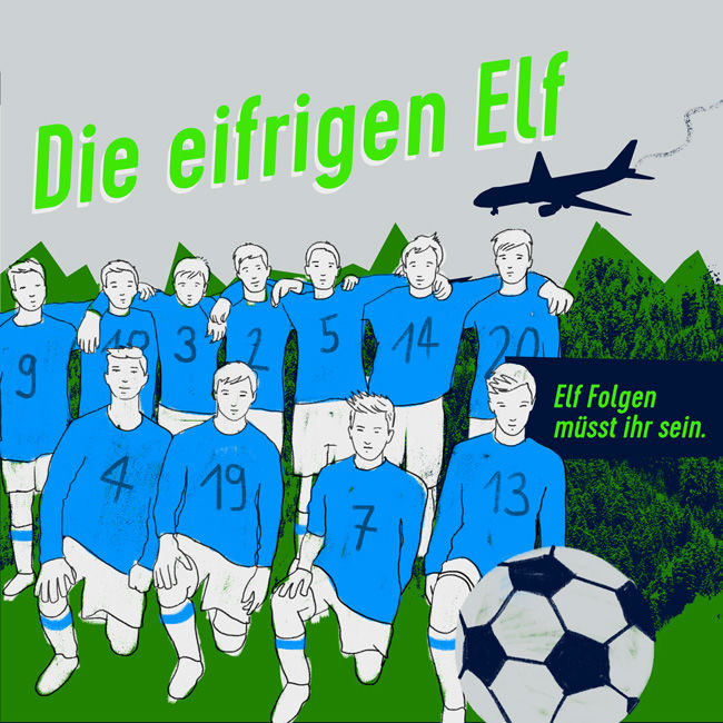 eifrige elf cover