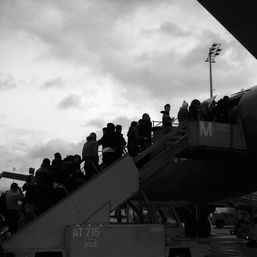 Abschiebung Flughafen