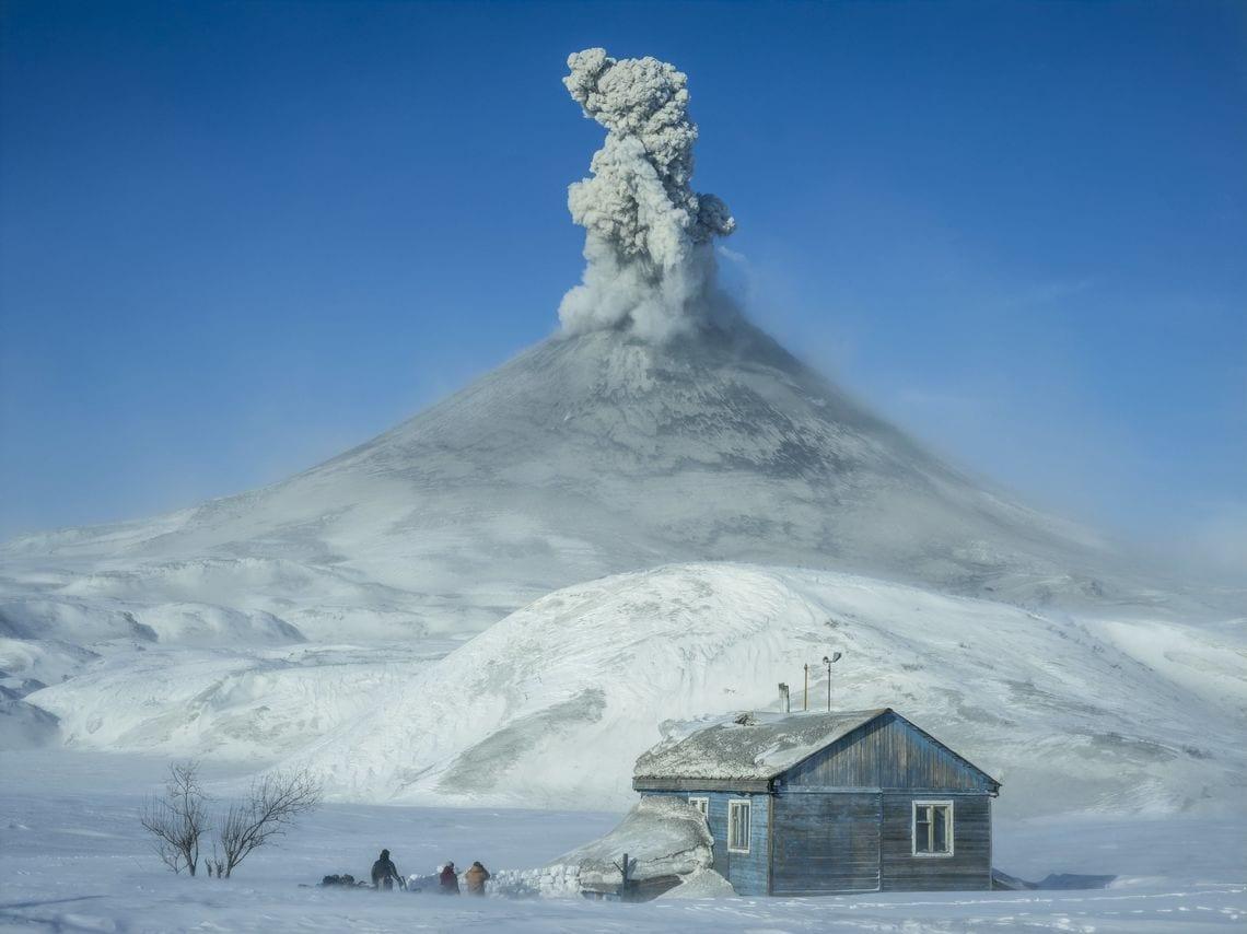 Gemütliche Unterkunft in Kamtschatka.