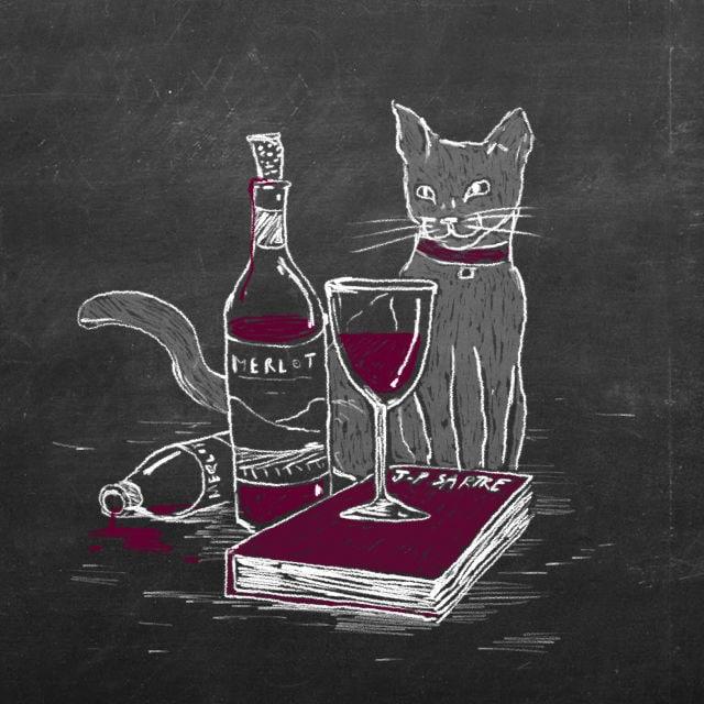 trink kolumne sartre