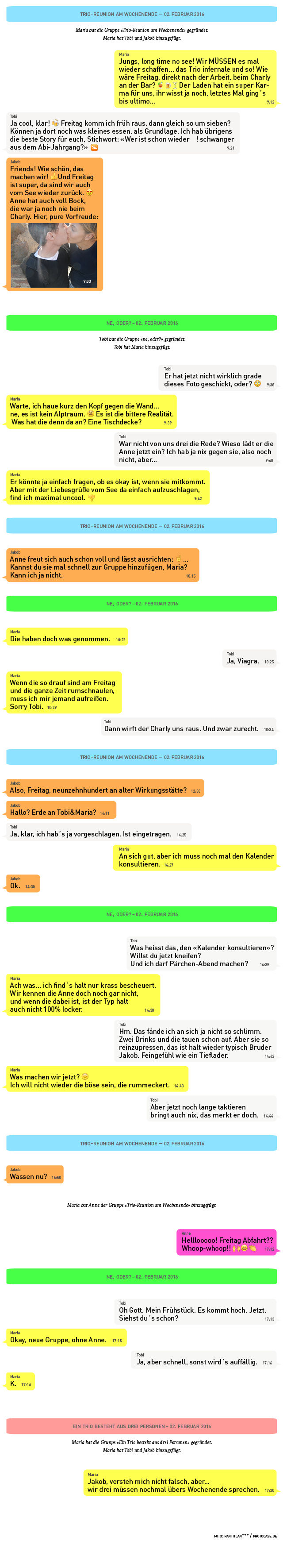 Der parallele Läster-Chat