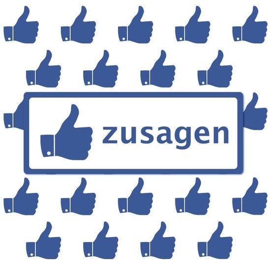 Facebook Veranstaltungszusagen