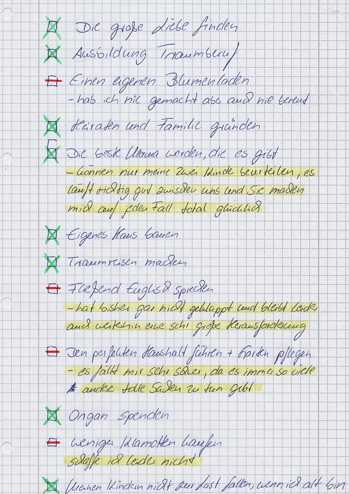 5 margarete liste