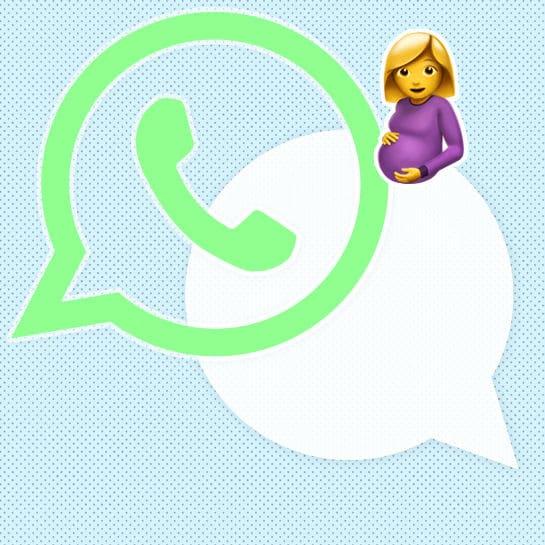 whatsapp status schwanger