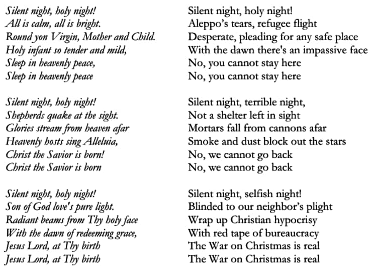 Weihnachtslieder Mit Text.Weihnachtslieder Auf Donald Trump Umgedichtet Netzteil Jetzt De