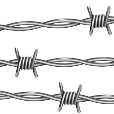 emoji barbed wire r