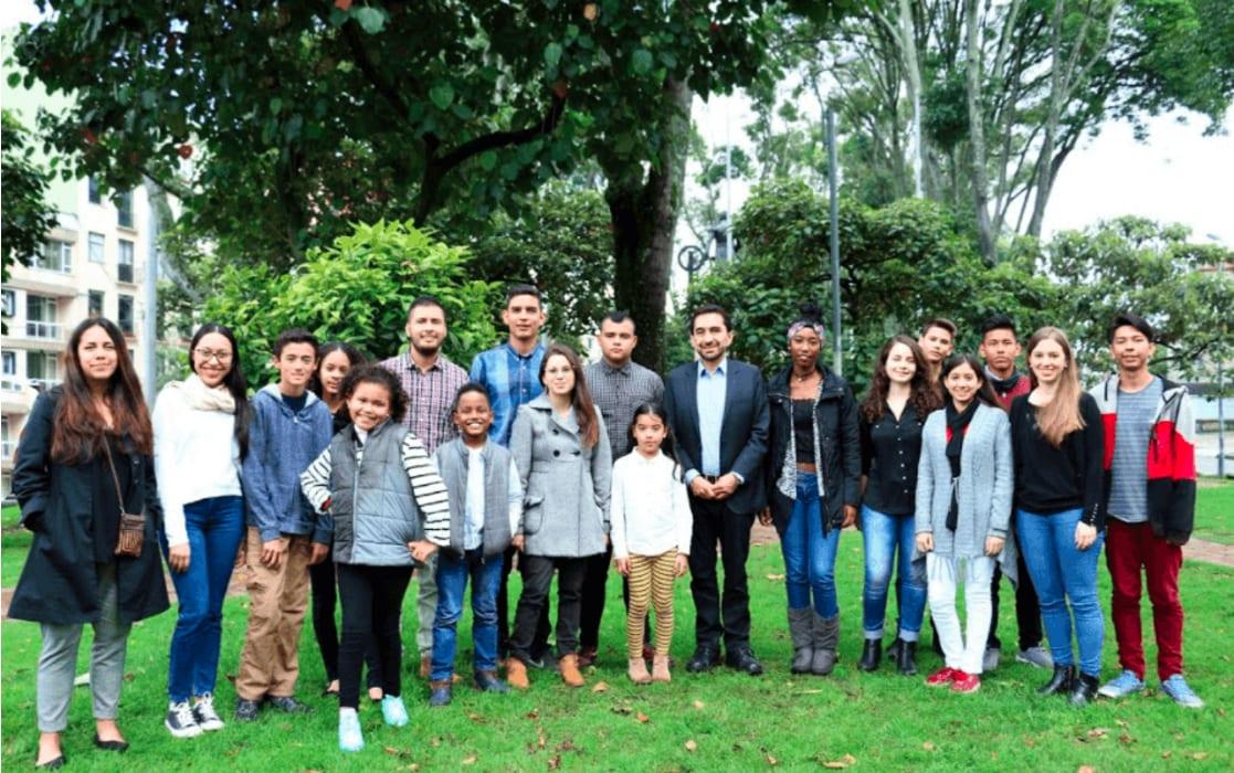 Diese jungen Menschen haben den kolumbianischen Staat verklagt. Und gewonnen.