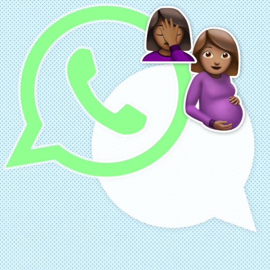 whatsapp kolumne schwanger cover