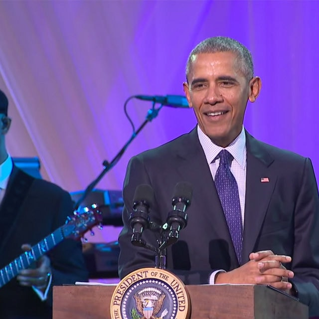 obama White House Musical Event