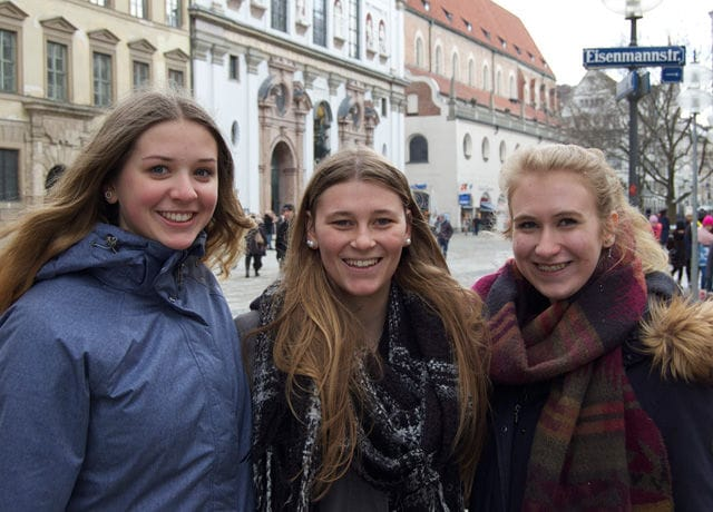 Celina, Pia und Selina, 18, Schülerinnen