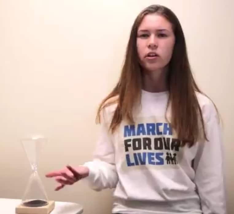 Sarah Chadwick hat die Schießerei an ihrer Schule in Parkland, Florida, überlebt. Jetzt setzt sie sich für schärfere Waffengesetze ein - zuletzt mit einem Parodie-Video.