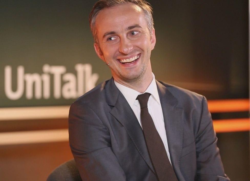 Jan Böhmermann beim UniTalk in Mainz