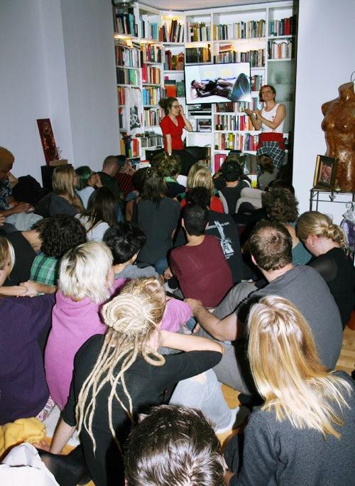 So viele Besucher wie diesmal waren noch nie zuvor beim feministischen Porno-Abend.