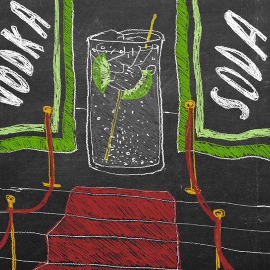 trink kolumne vodka soda
