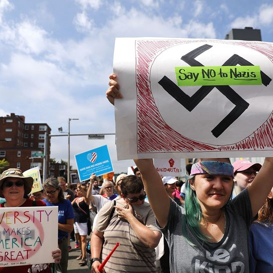 Proteste gegen Neo-Nazis in Charlottesville.