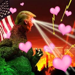 trump desaster love