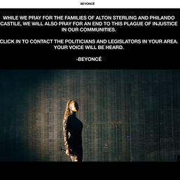 beyonce website screenshot2