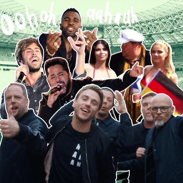 Ja, all diese Menschen machen Musik zur WM.