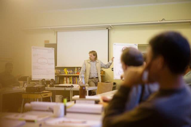 Bernhard Eggerbauer, Unternehmercoach und einer der Dozenten im Leonhard-Programm.