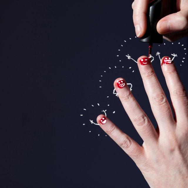 mädchen fingernägel