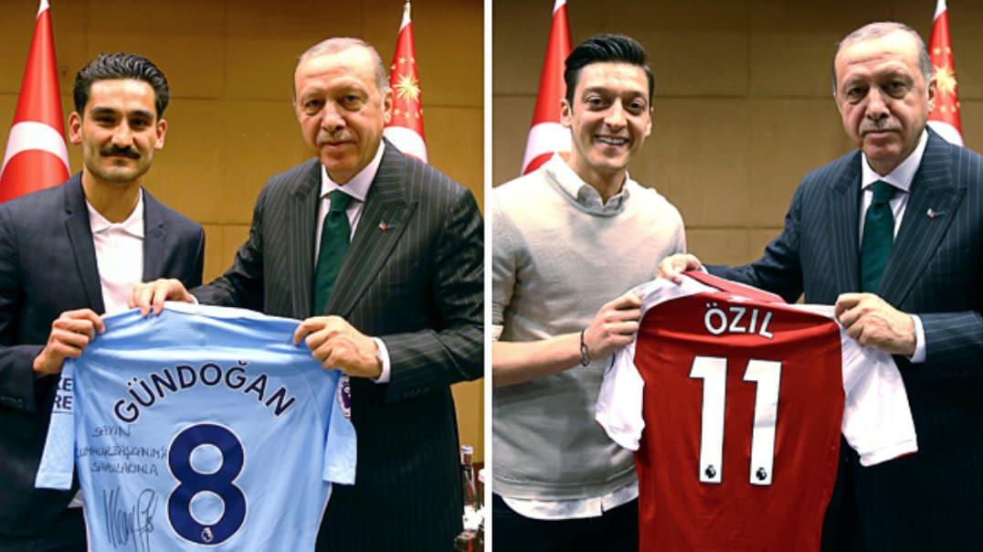 Ilkay Gündogan signiert M DFB Deutschland Trikot Manchester City