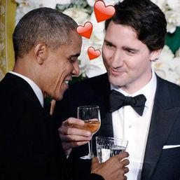 Barach Obama, Justin Trudeau