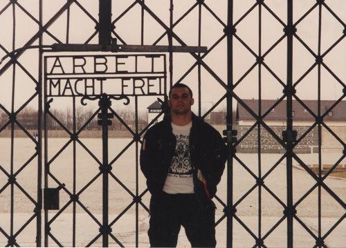 christian picciolini at dachau gate 1992 text