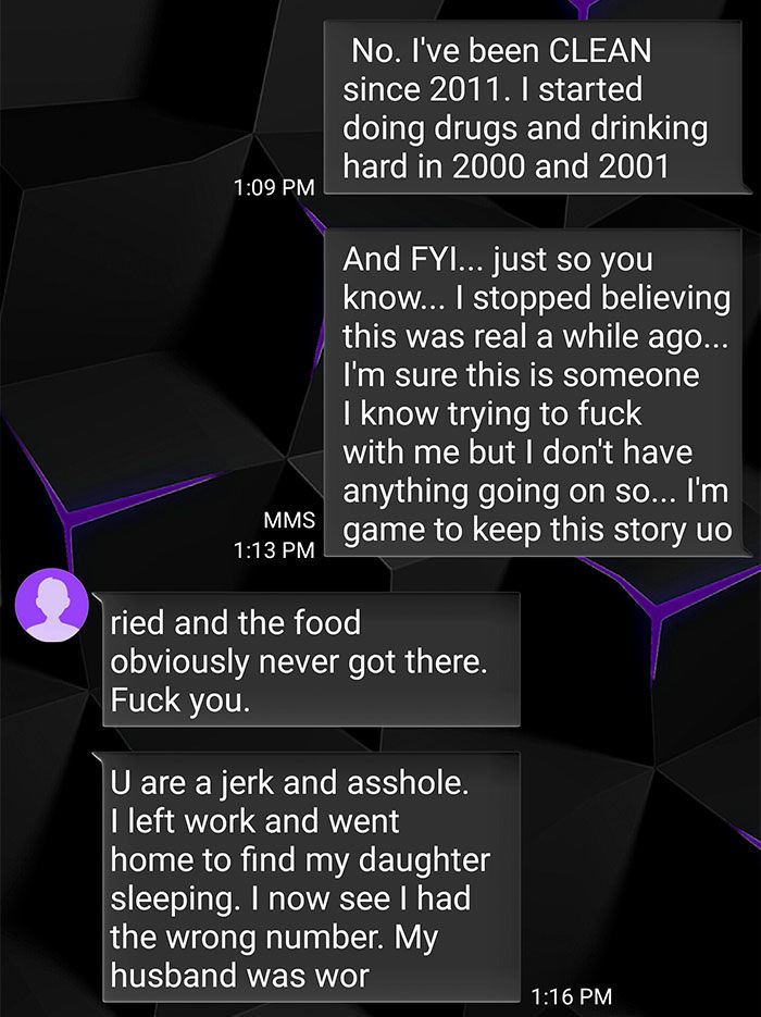 guy troll wrong number text exchange velakskin 10