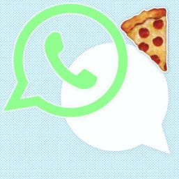 cover whats app kolumne paerchen pizza