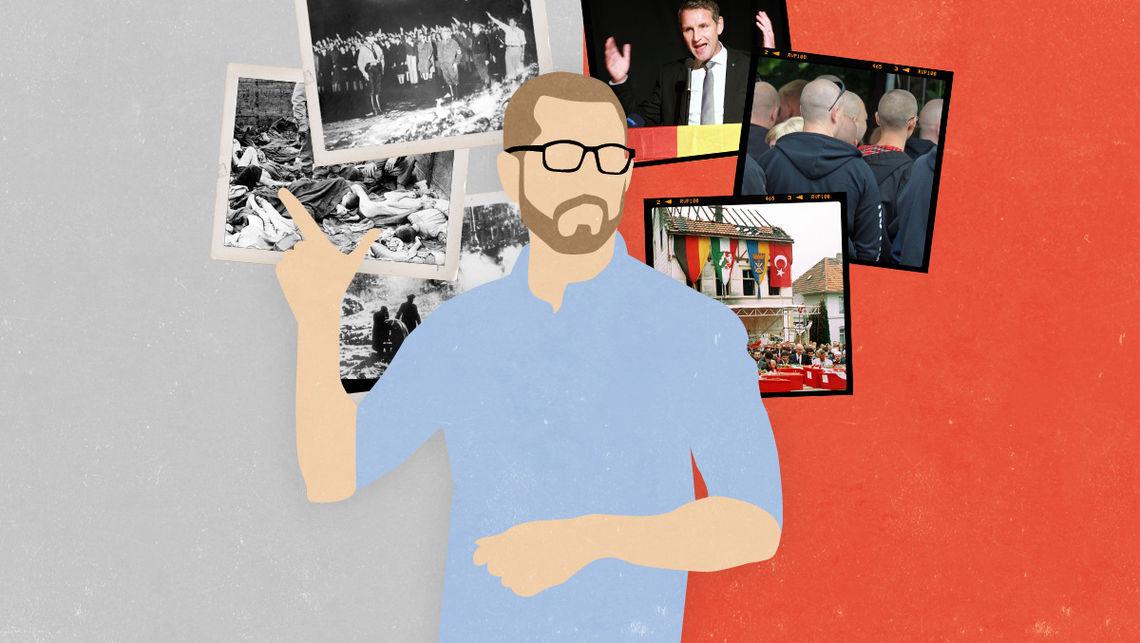 Warum Björn Höcke in den Geschichtsunterricht gehört