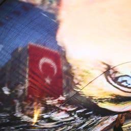 türkische Journalistin