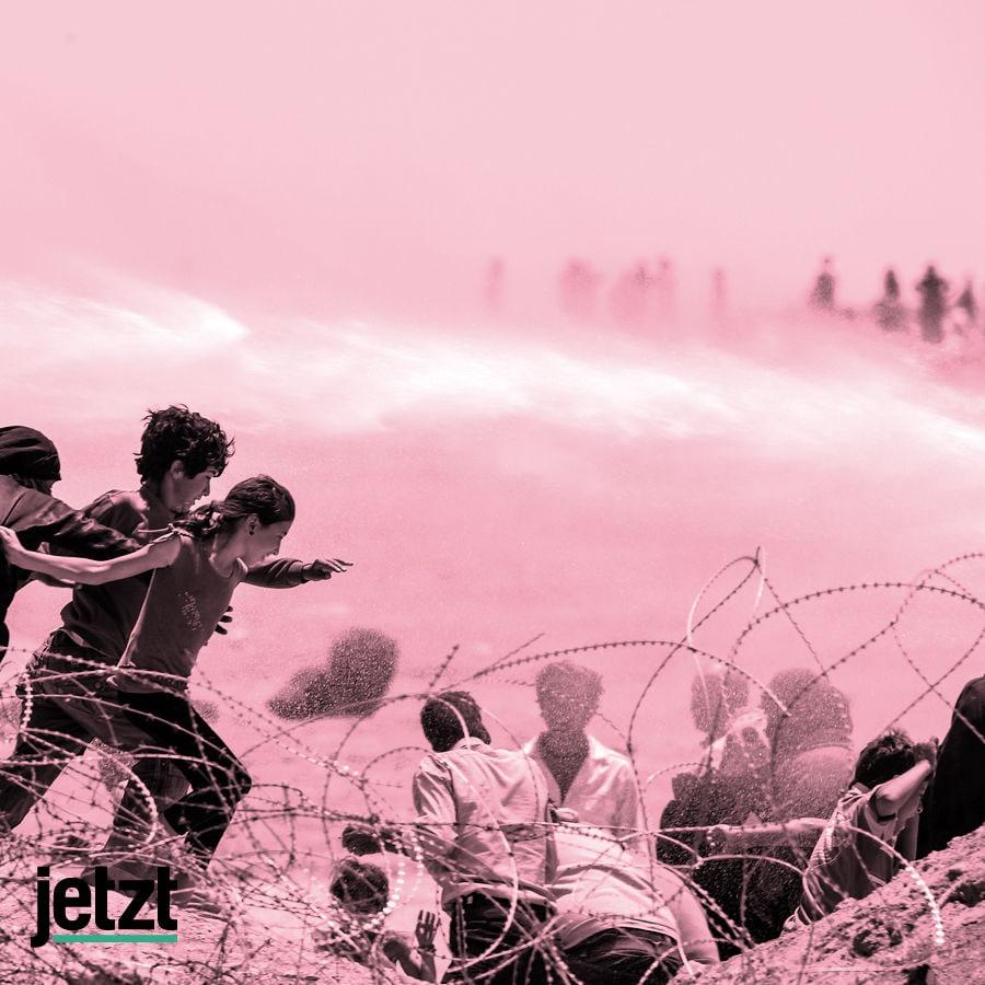 Türkisch Syrische Grenze