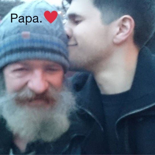 obdachloser papa cover