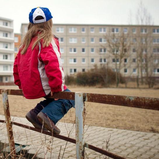 Strassenkinder in Leipzig