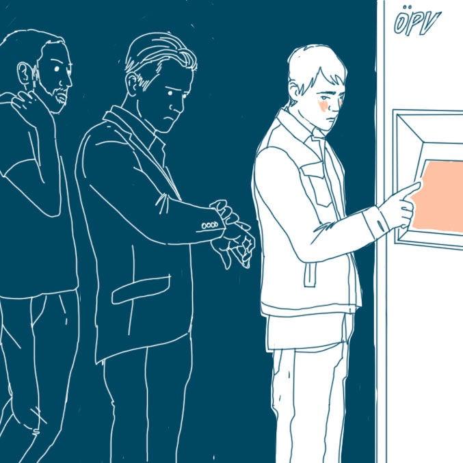 sozialphobie fahrkartenautomat 2 cover