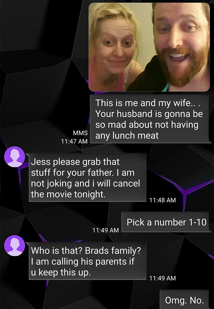 guy troll wrong number text exchange velakskin 5