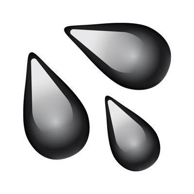 emoji oil droplets r