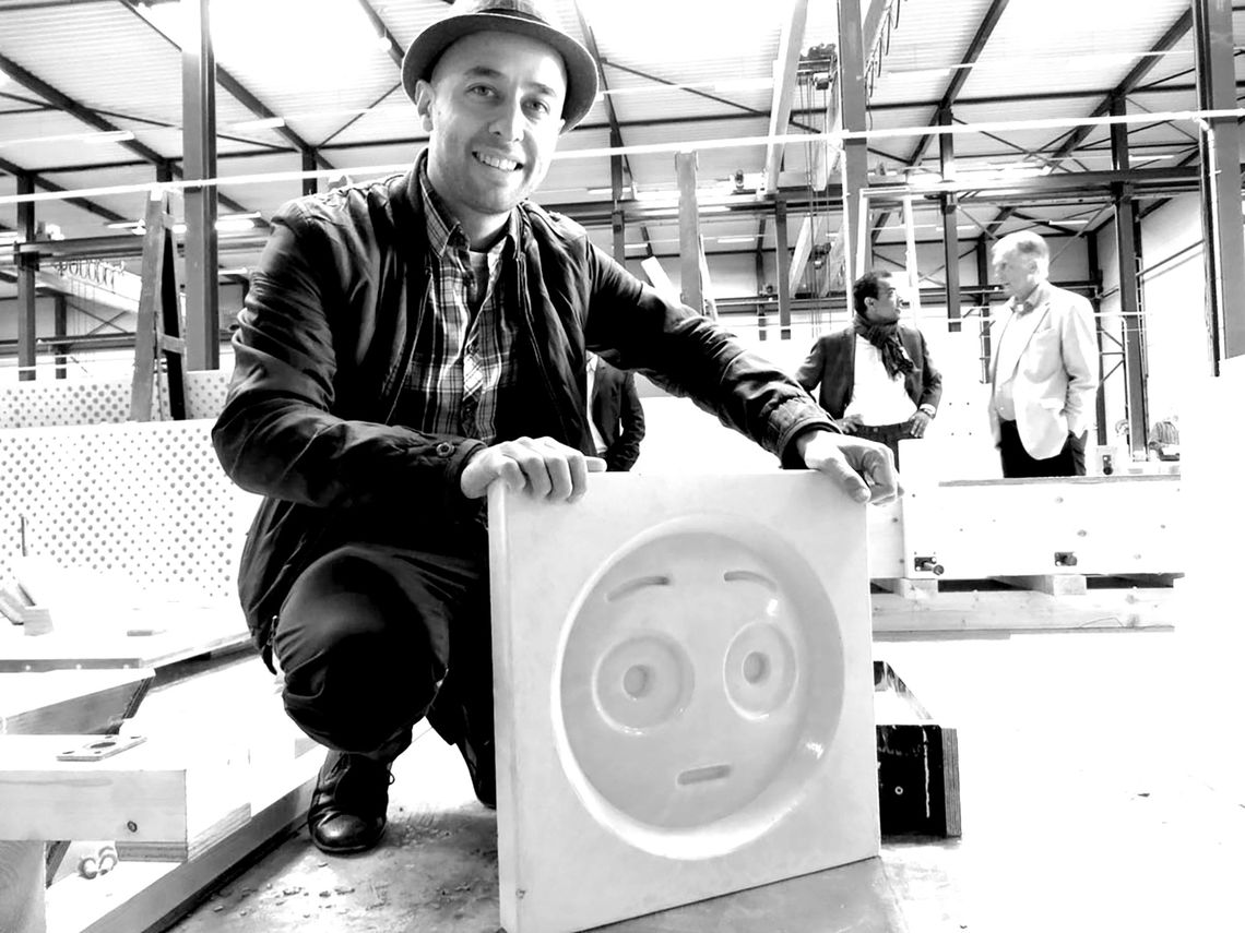 Changiz Tehrani, der Architekt des Emoji-Hauses