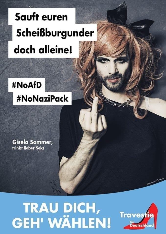Travestie für Deutschland X
