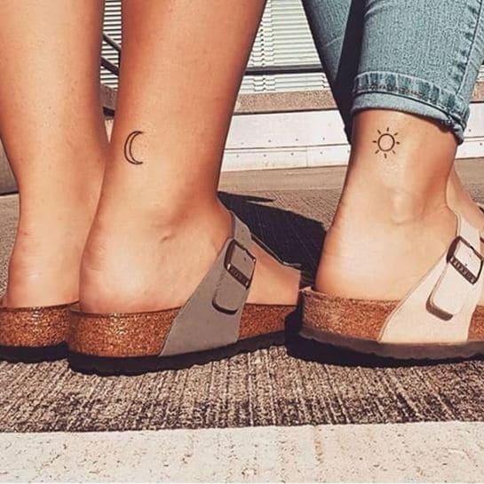 Partner tattoos liebe
