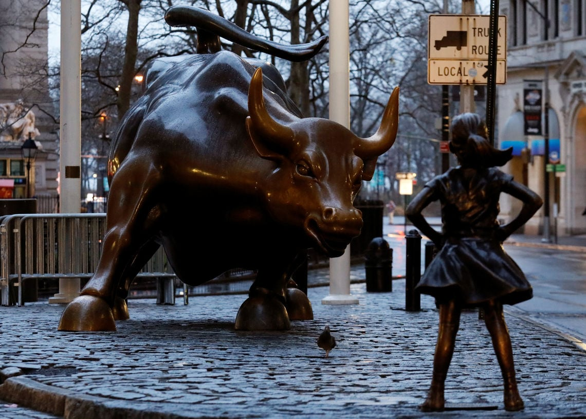 fearless girl brendan mcdermid reuters