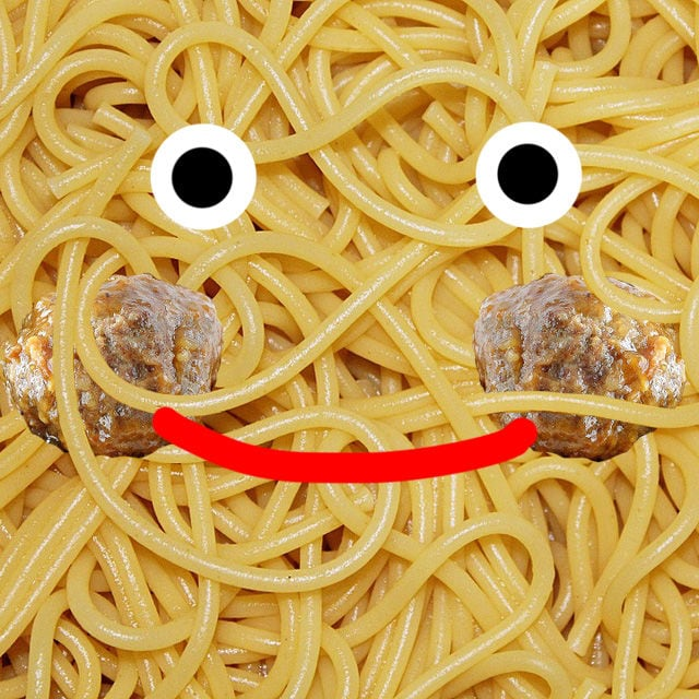 cover spaghetti monster