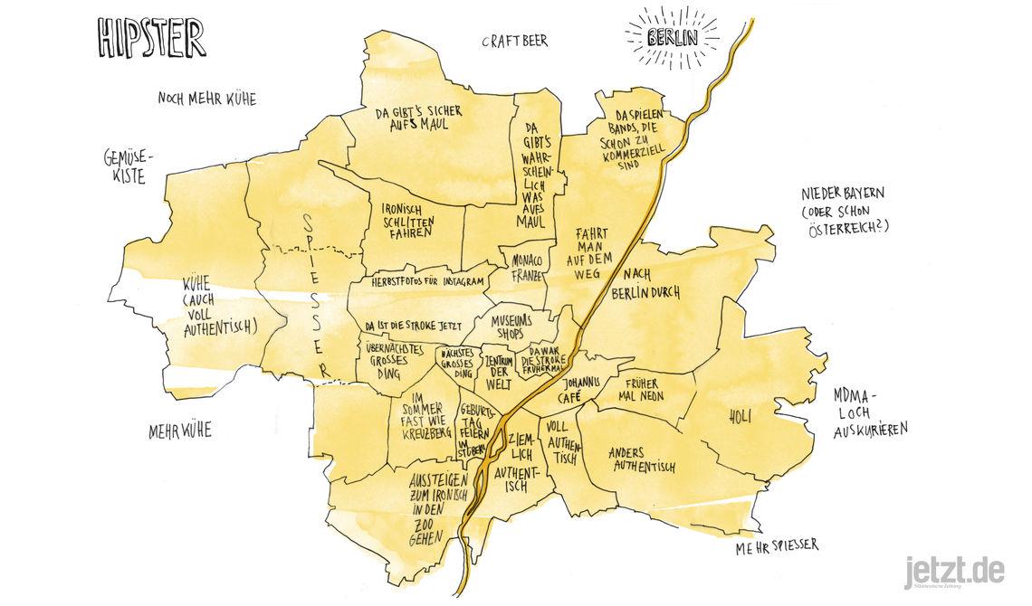 Karte München Stadtteile.Stadtkarten Vom Klischee München München Jetzt De