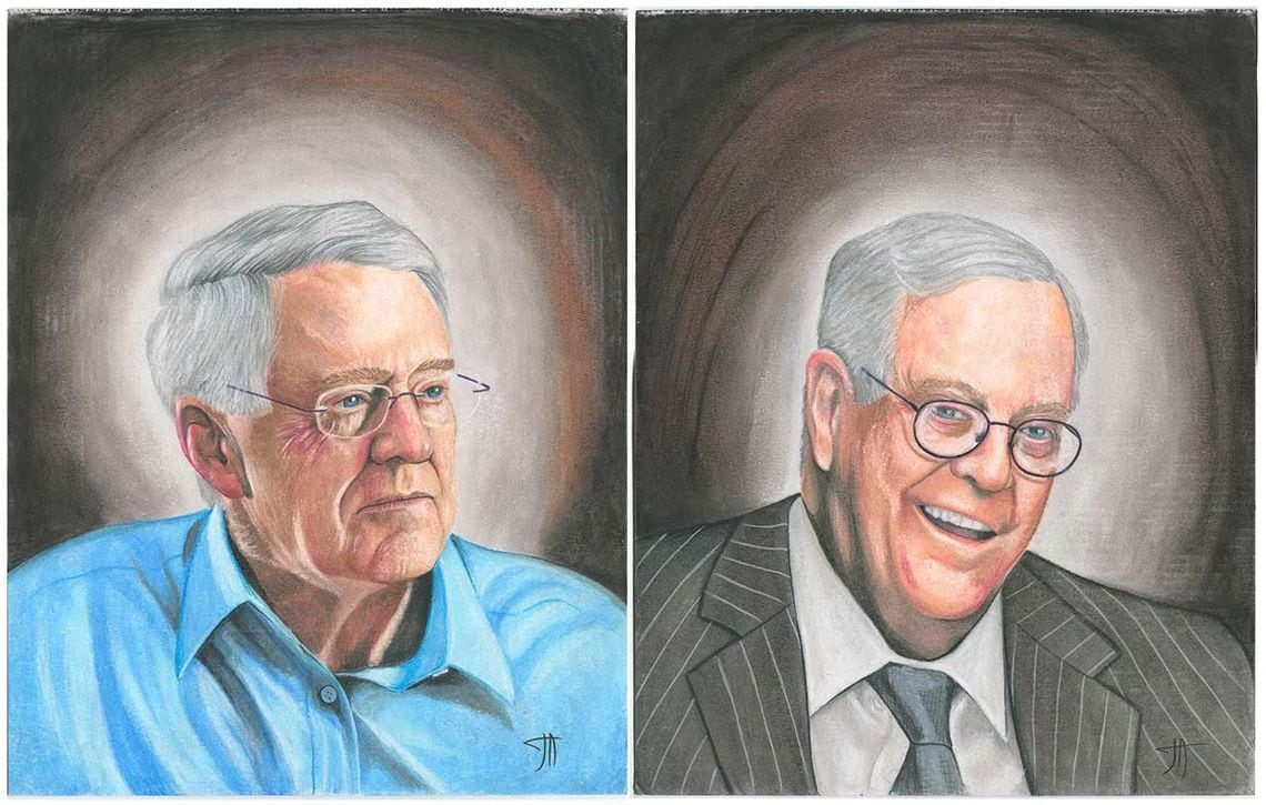 CEO & VP of Koch Industries – The Koch Brothers (Charles and Cavid)