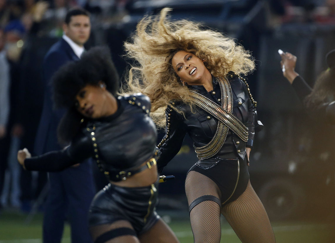 beyonce super bowl ap matt slocum